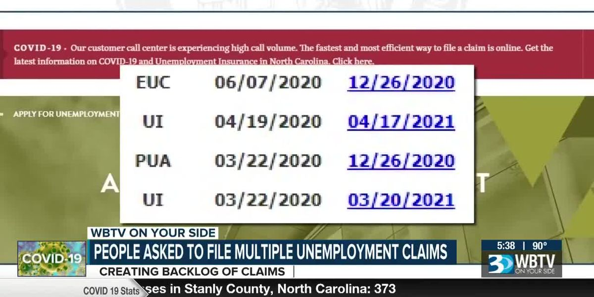 People filing for unemployment wonder why so many claims