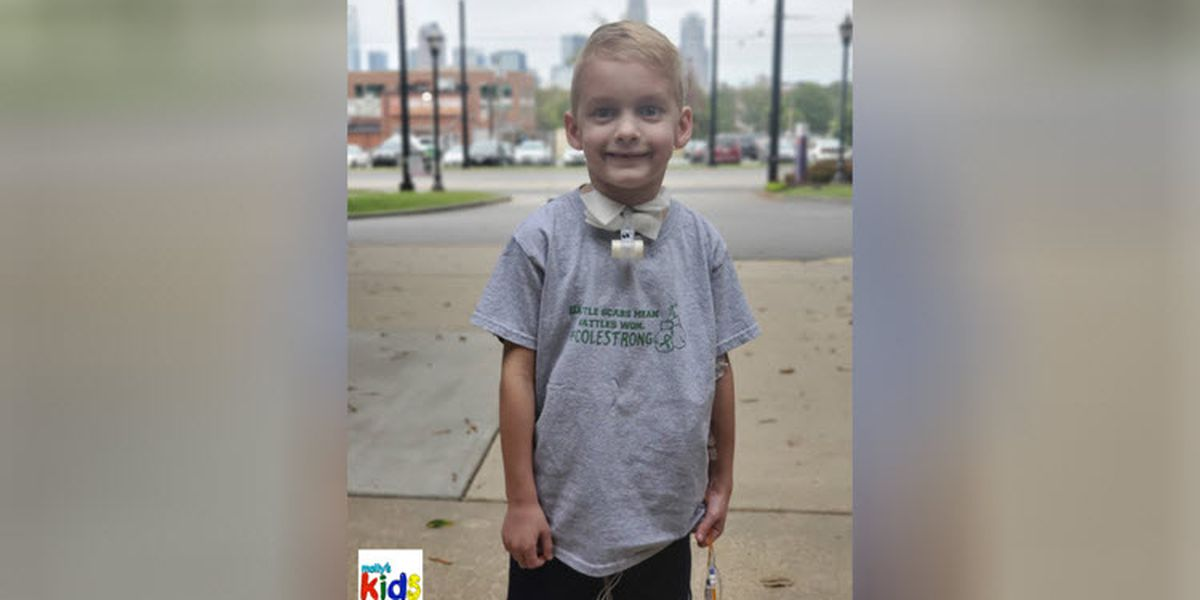 Molly's Kids: Meet Cole Russell. Gastroschisis. Never heard of it? His mom hopes to educate you.