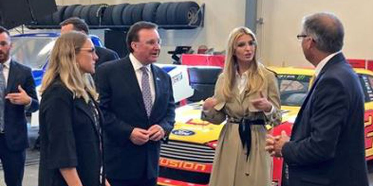 Ivanka Trump visits Mooresville before observing Florence aftermath