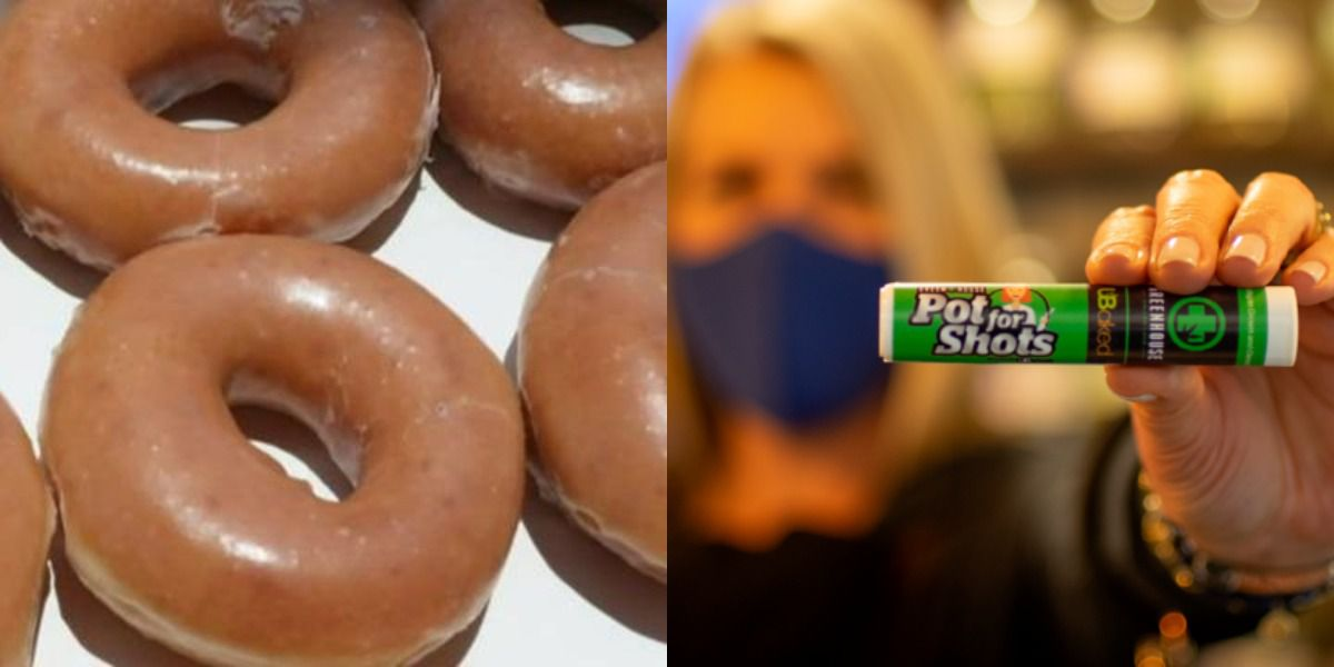 Donuts and weed among the freebies retailers offer to vaccinated Americans