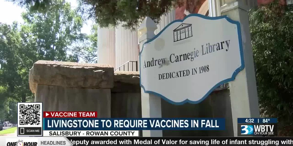 Livingstone college to require vaccines in fall