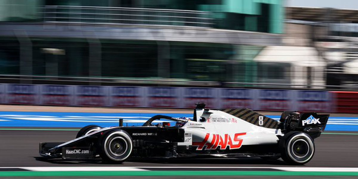A dismal day in the UK for Kannapolis-based Haas F1 Team