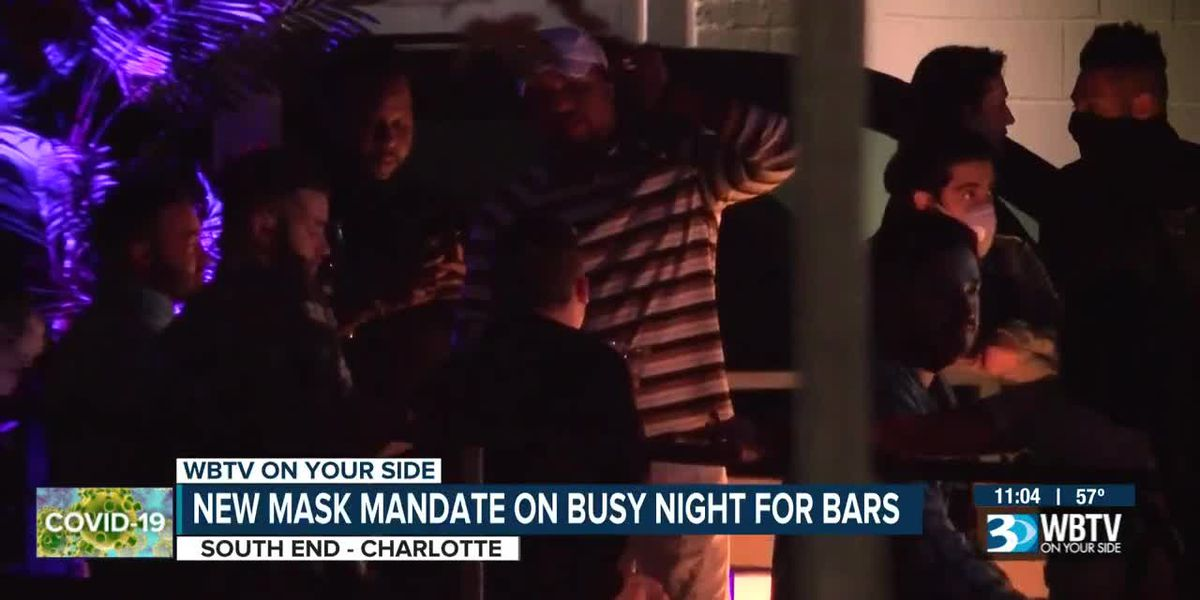 New mask mandate on busy night for bars