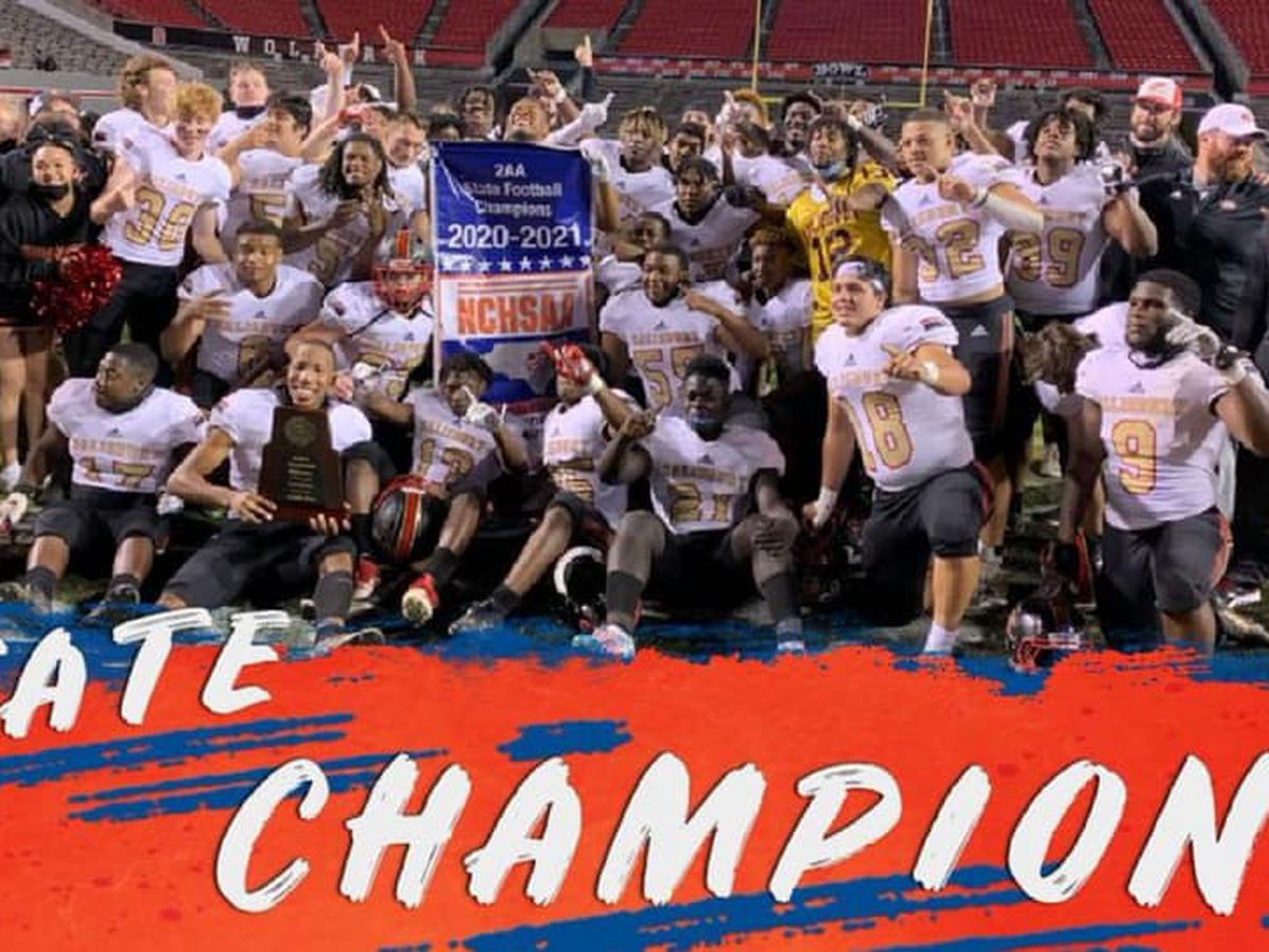 Salisbury Hornets win state high school football championship