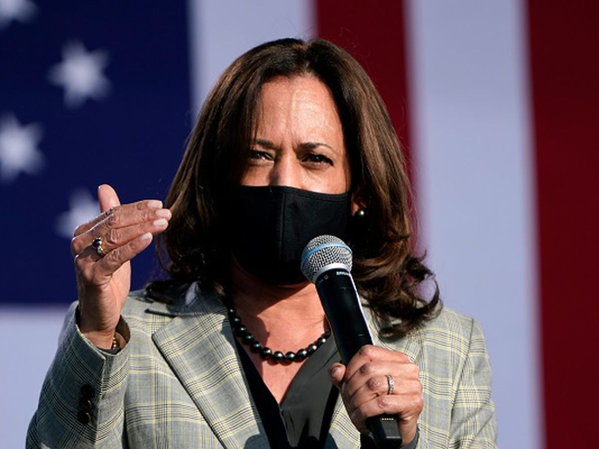 Kamala Harris speaks in Asheville ahead of Charlotte stop