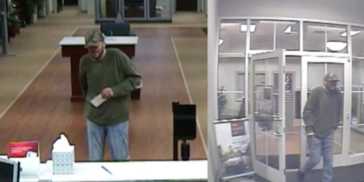 Police searching for suspect in Concord bank robbery