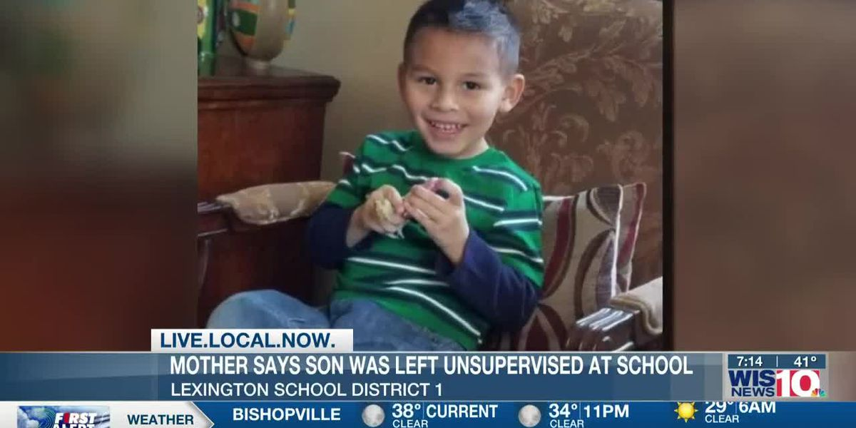 Lexington School District 1 mother claims school left son unsupervised, alone by road