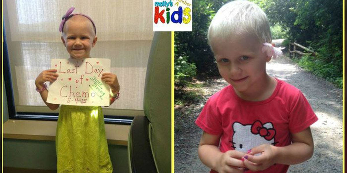 Molly's Kids (Sept 29): What four months of hair growth looks like on Madison Graham, who's now cancer-free