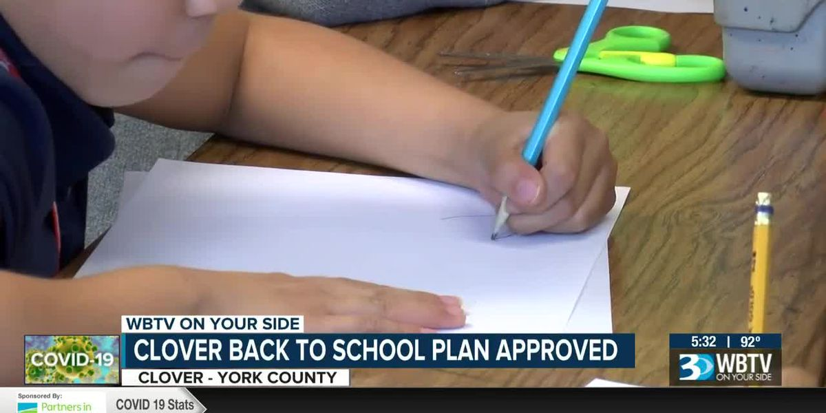 Clover back to school plan approved