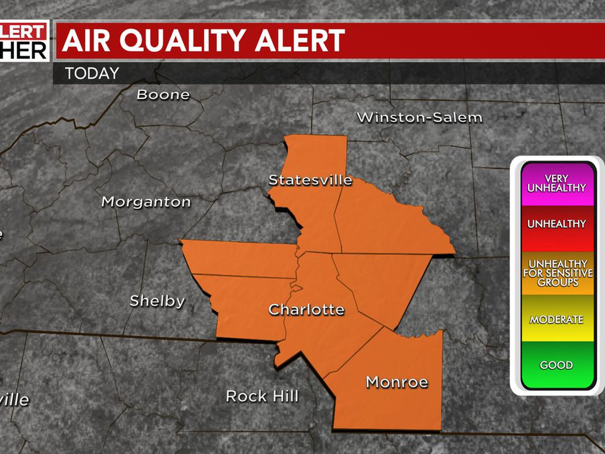 Air Quality Alert issued as warmest temps so far this year expected