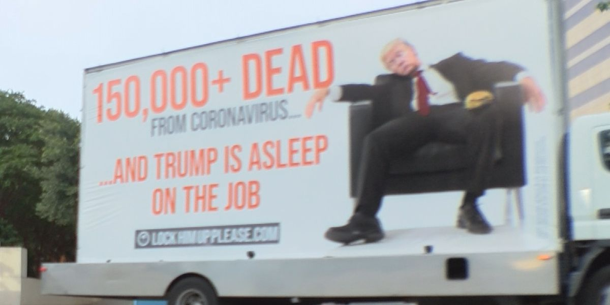 Anti-Trump billboard catches attention in uptown Charlotte, there's more to it than just politics