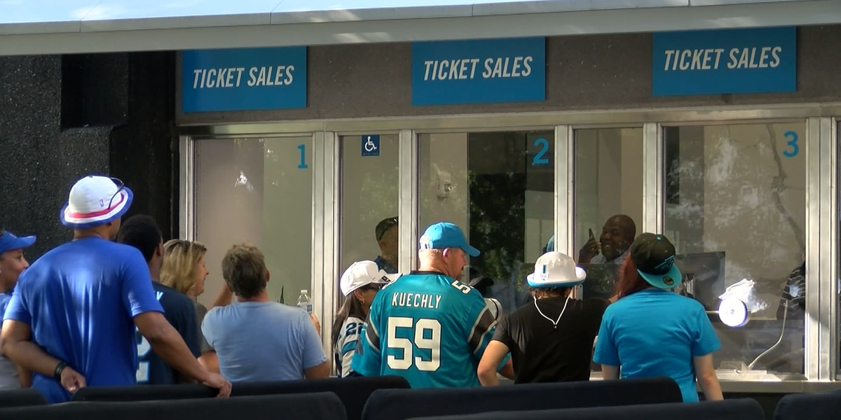 Headaches for some Panthers fans as new ticket policy rolls out for first preseason home game