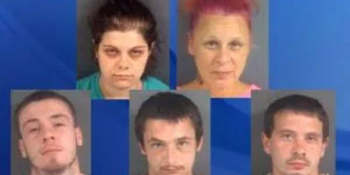 5 nabbed in human-trafficking bust involving 'sexual services,' Fayetteville police say