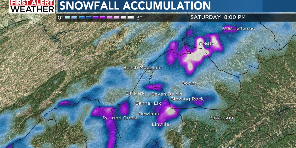 Big swings in Charlotte weather – from tornadoes to snowfall