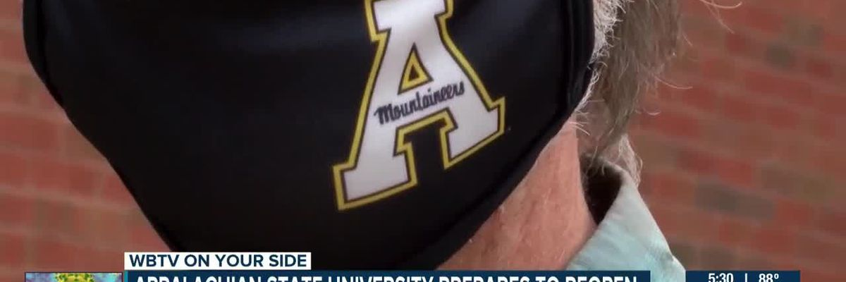 Appalachian State University prepares to reopen