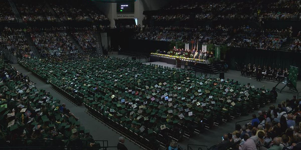 UNC Charlotte commencement ceremonies honor students killed in campus shooting