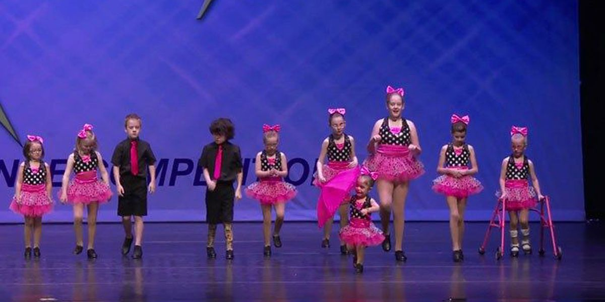 Special needs children get a chance to dance, move to world competition