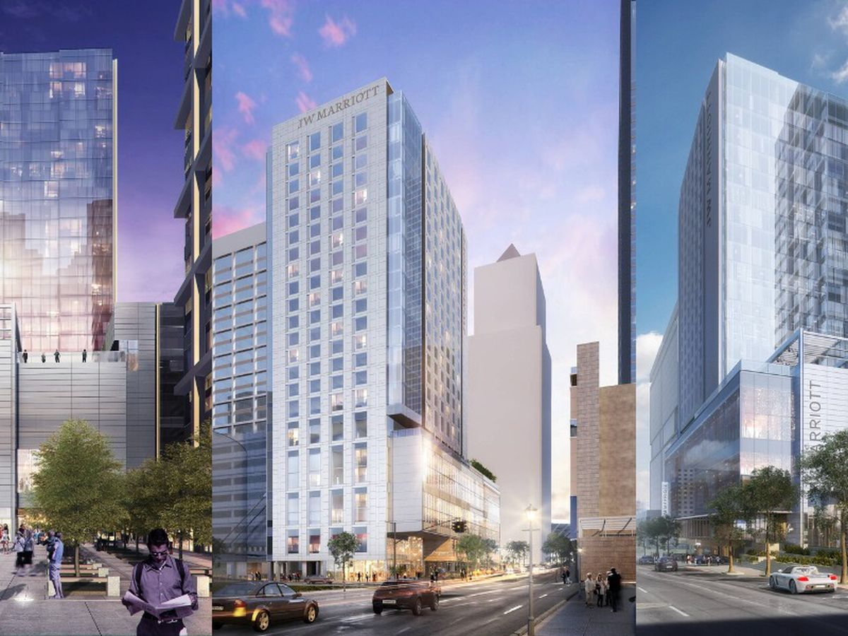 JW Marriott hiring 300 people for new luxury hotel, restaurants in uptown Charlotte