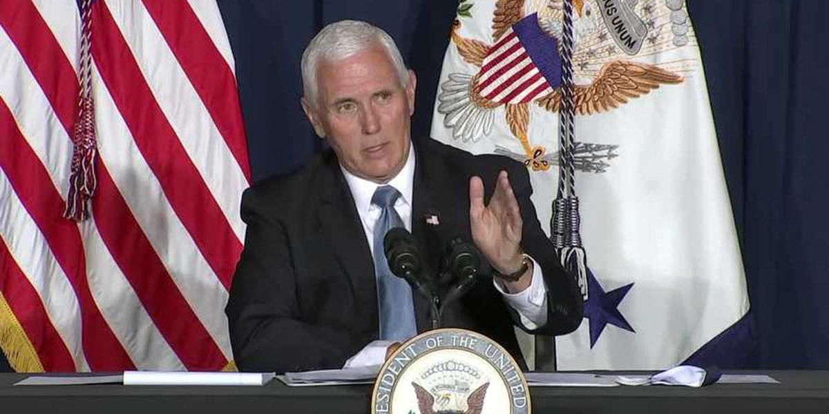 Vice President Pence coming to Wilmington for campaign event