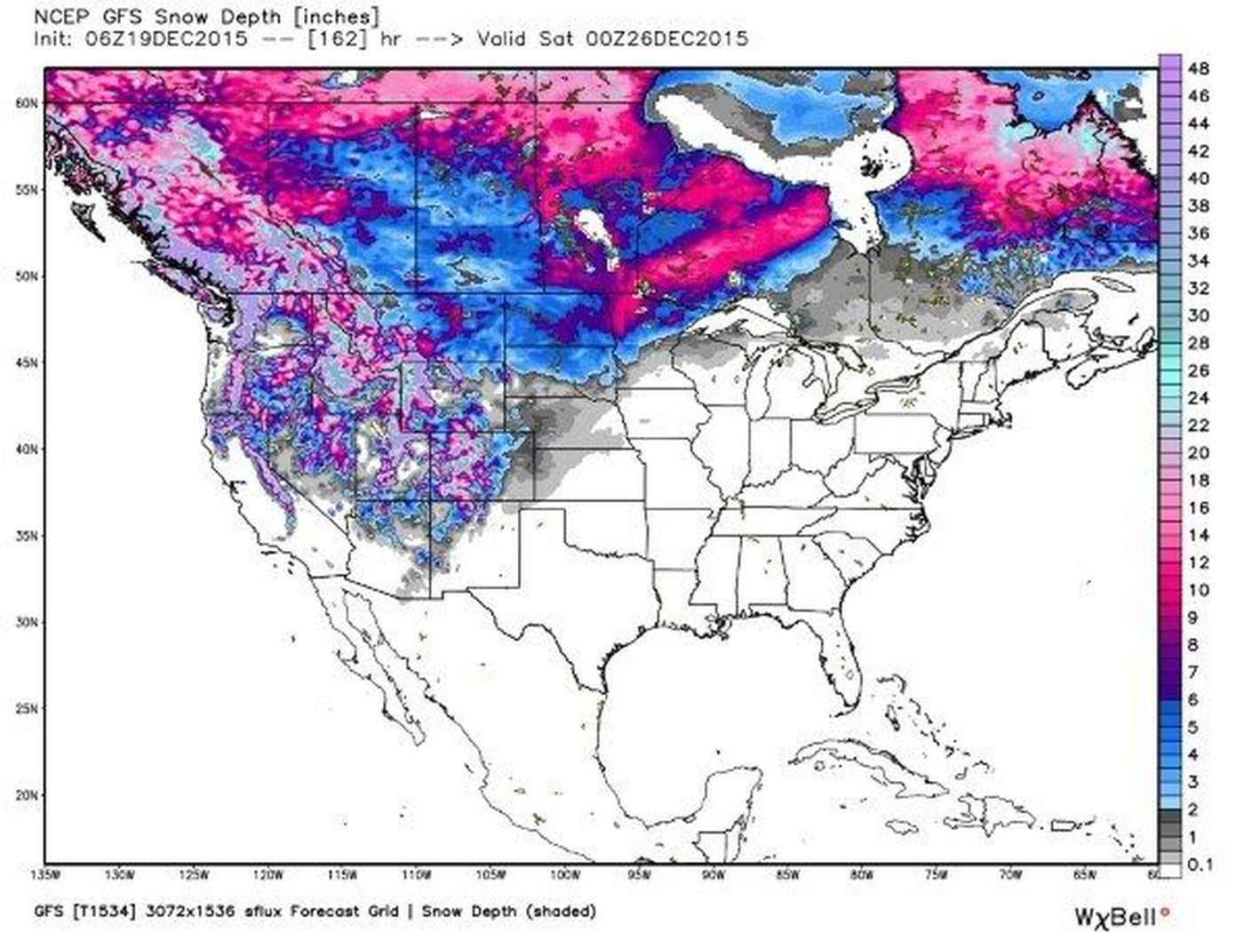BLOG: Who will see a White Christmas?