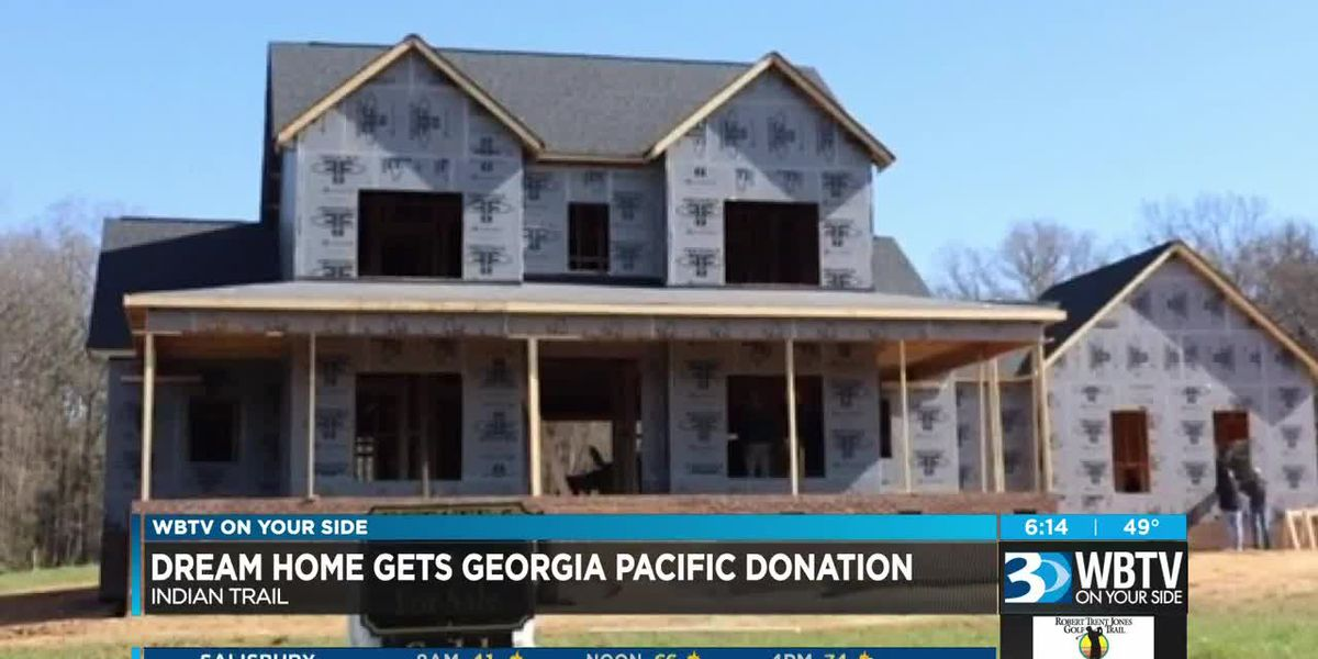 Georgia Pacific donates $10k in material to St. Jude Dream Home