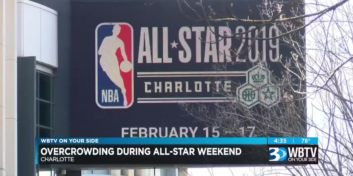 Overcrowding across Charlotte region expected on NBA All-Star Weekend