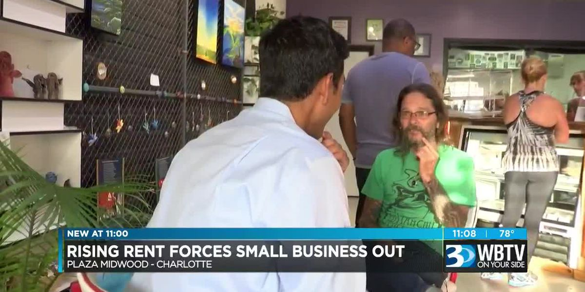Rising rent forces small business out