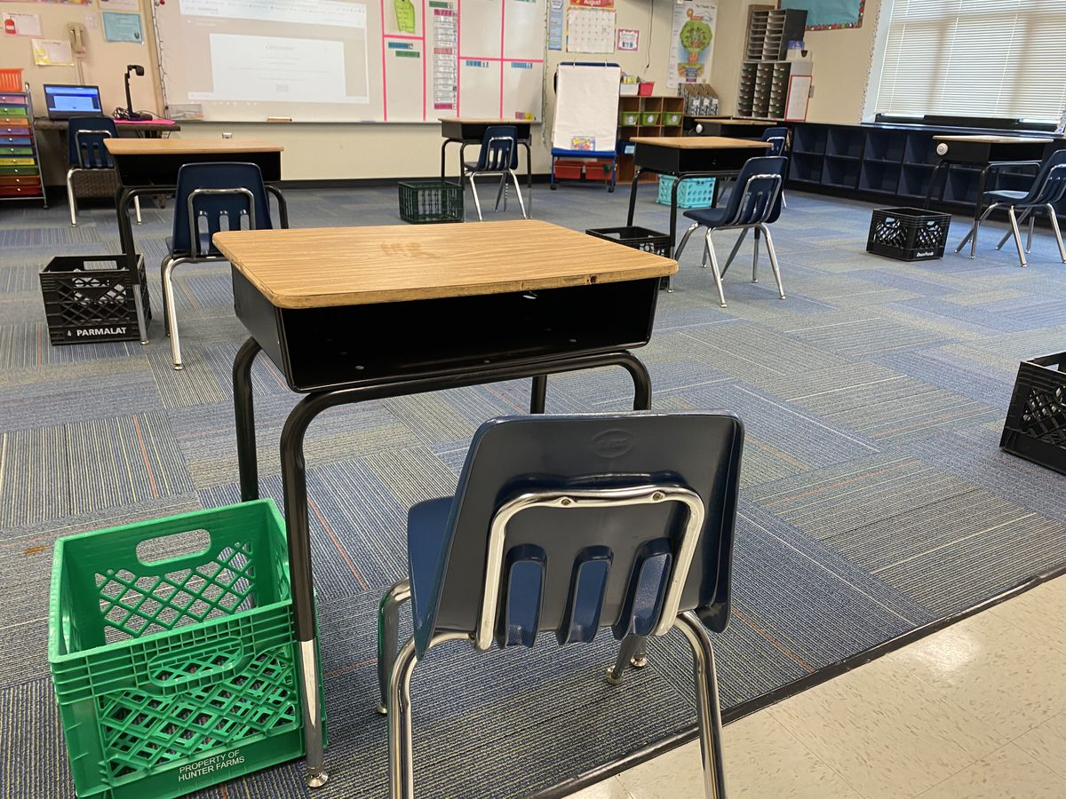 Inside look: Changes for Union County Public Schools as it welcomes students, staff back for in-person learning