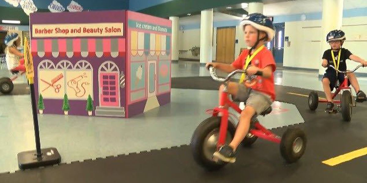 Huntersville kids hone their knowledge at 'Safety Town'