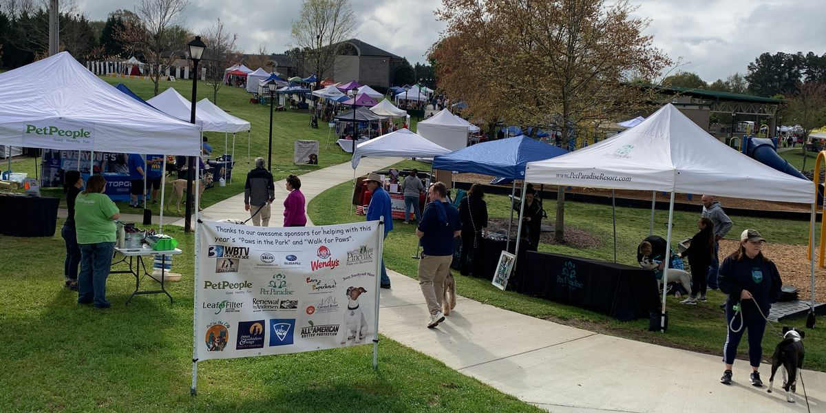 'Paws in the Park' celebrates another successful event in Pineville