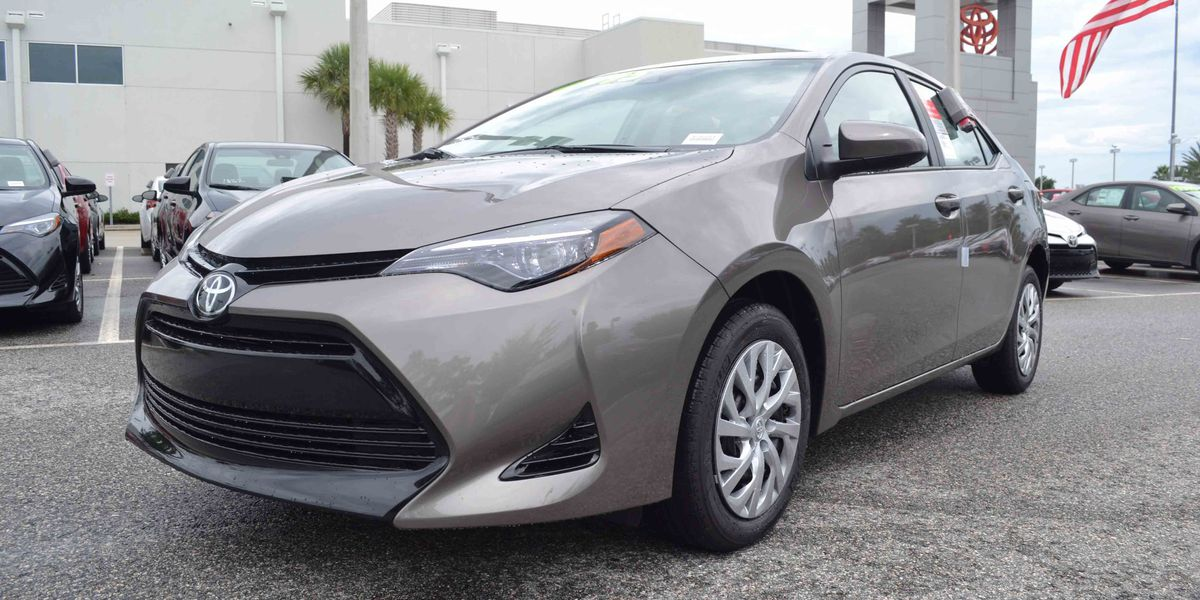 Toyota of North Charlotte welcomes the 2018 Toyota Corolla
