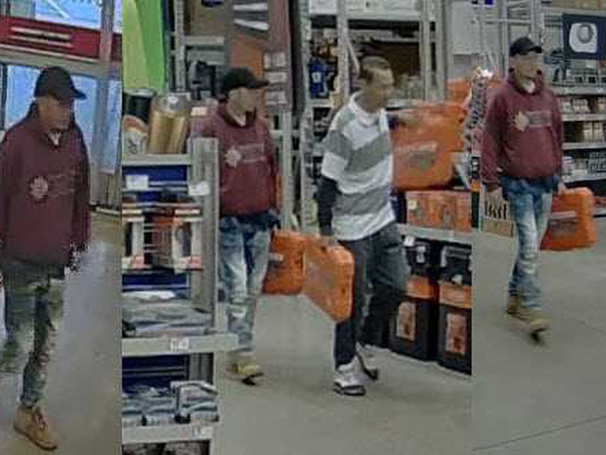 Men arrested, accused of armed robbery at Lowe's in Matthews
