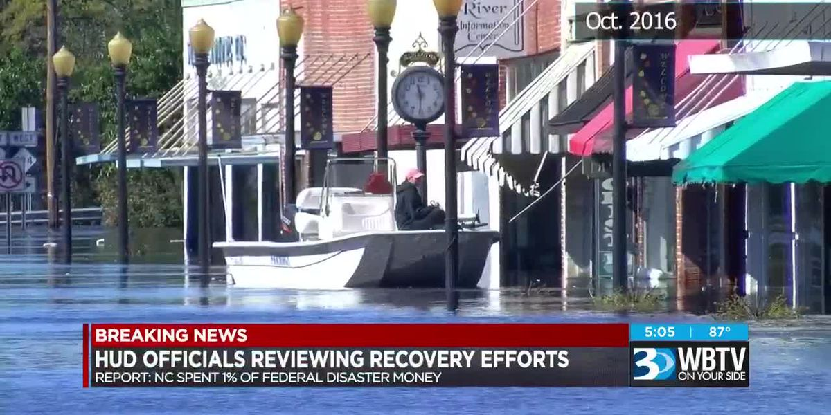 HUD officials reviewing NC hurricane recovery efforts