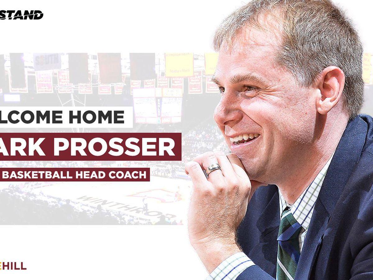 Mark Prosser hired as head coach of Winthrop men's basketball
