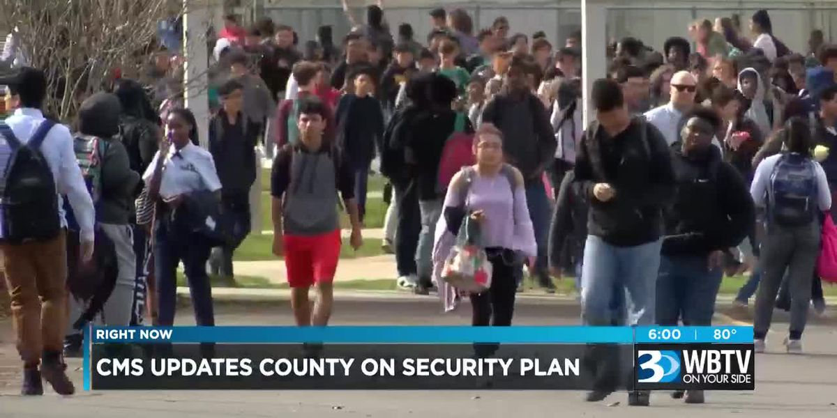 CMS updates county on security plan