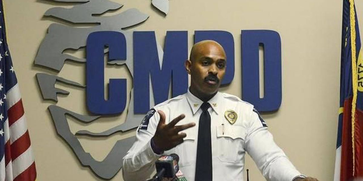CMPD chief's replacement will likely be internal hire