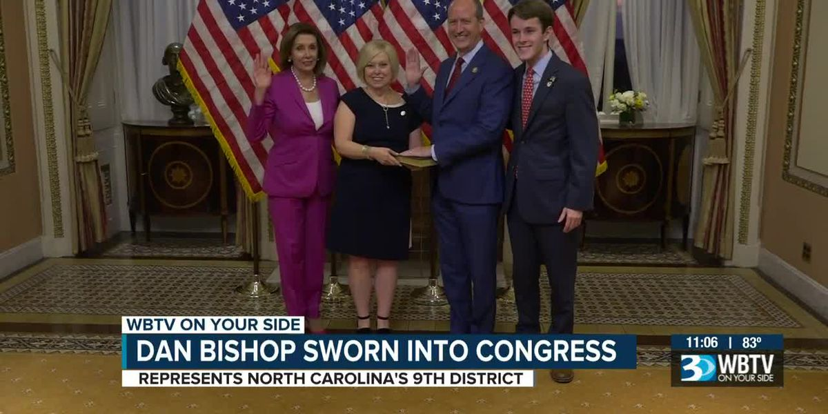 Dan Bishop sworn into Congress in Washington, D.C.