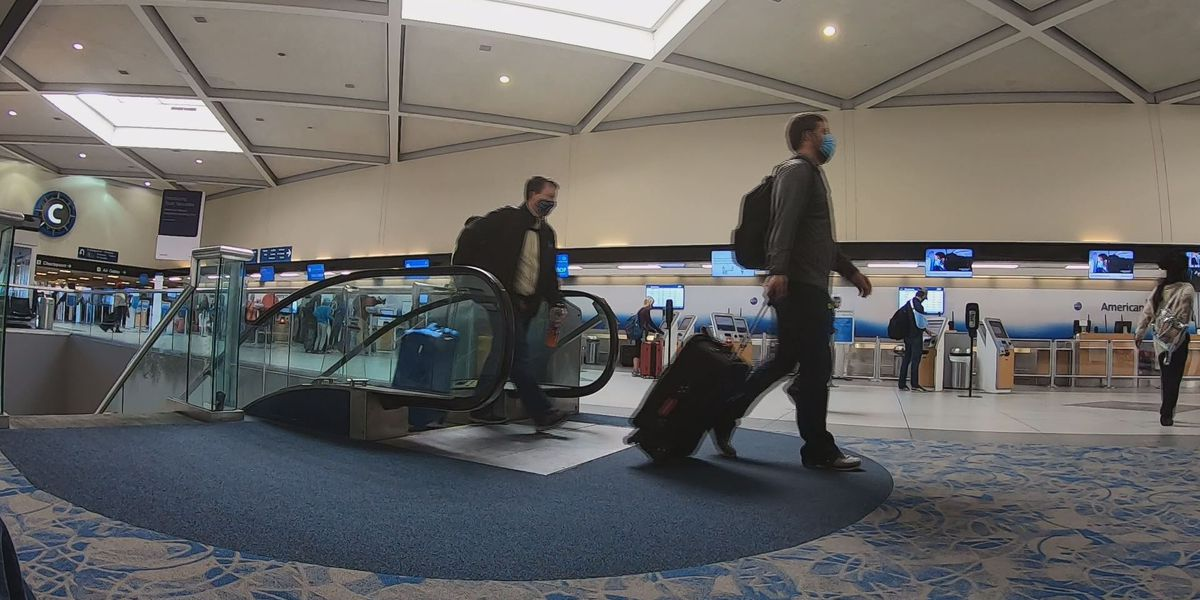 Charlotte-Douglas can't force Covid-19 positive passengers to leave airport