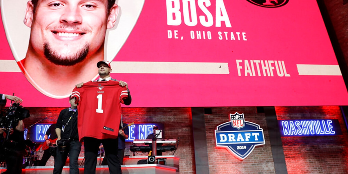 President Trump tweets congratulations to Nick Bosa, says 'stay true to yourself'