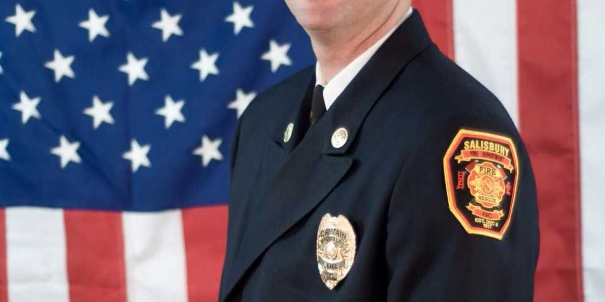 Tyler Forrest promoted to Battalion Chief at Salisbury Fire Department