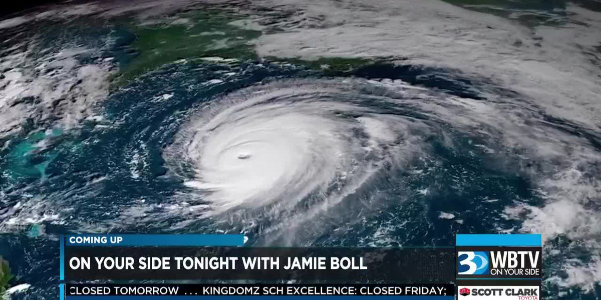The very latest on Hurricane Florence