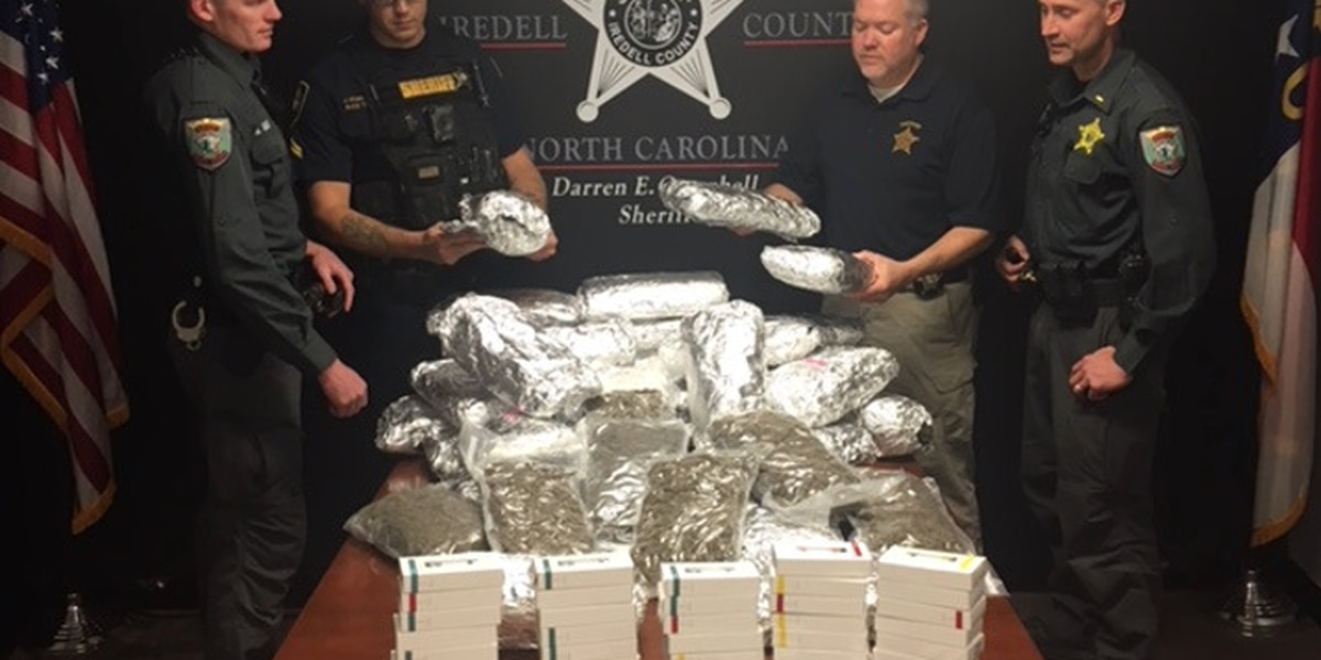 Three arrested as more than $300,000 worth of drugs found in traffic stops on I-77