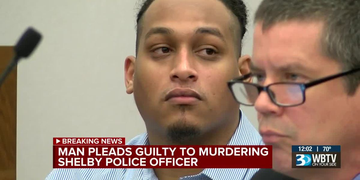 Man pleads guilty to killing Shelby officer