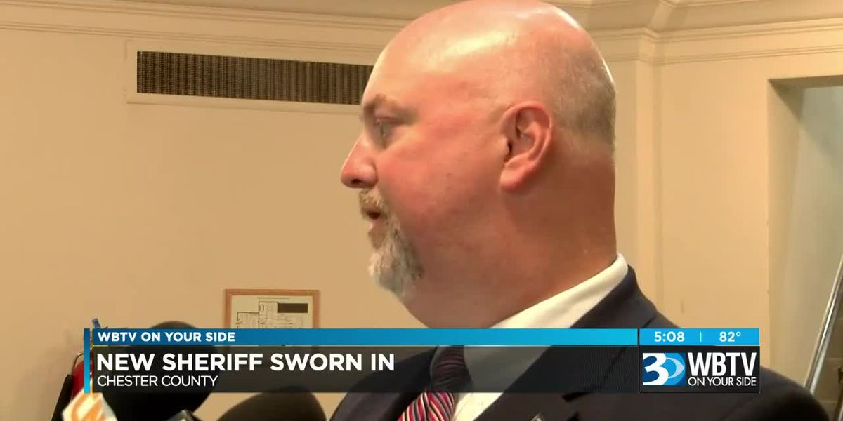 Interim sheriff sworn in after Chester County sheriff suspended, indicted on federal charges
