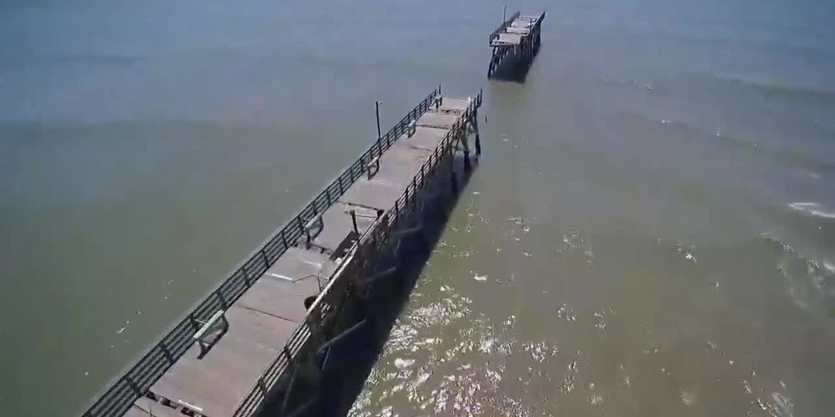 'Just shocking': Hurricane Isaias takes out portion of Sea Cabin Pier in Cherry Grove