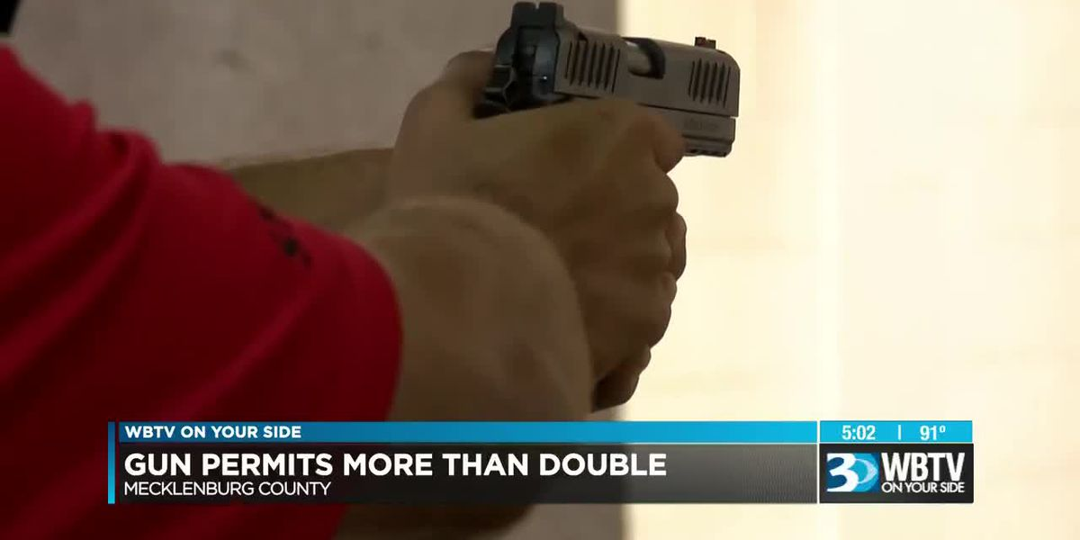 Concealed carry permits on the rise among Mecklenburg County residents