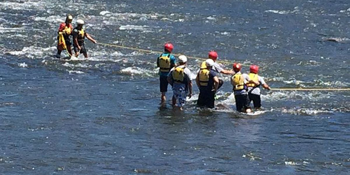 Rock Hill swift water rescue team training this week