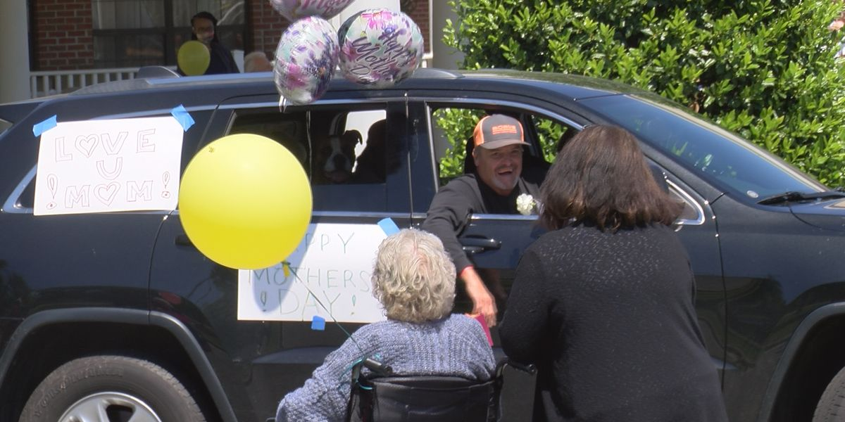 Harrisburg nursing home holds drive-through visitation parade for families
