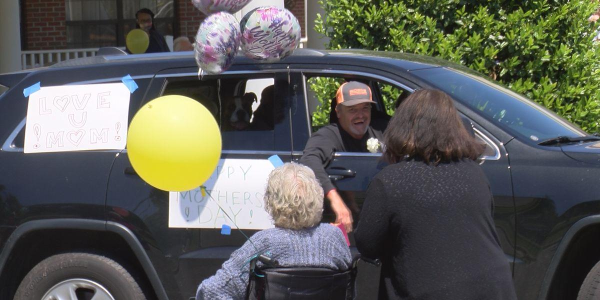 Harrisburg nursing home holds drive-through visitation parade for families