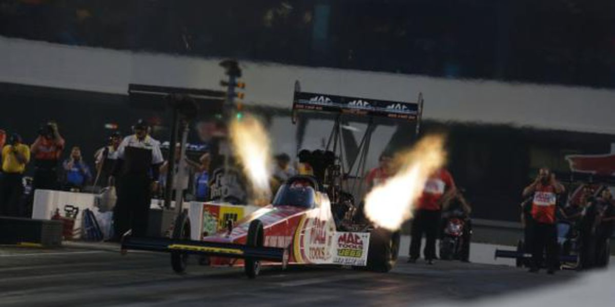 zMAX Dragway introduces Night of Fire to NGK Spark Plugs NHRA Four-Wide Nationals